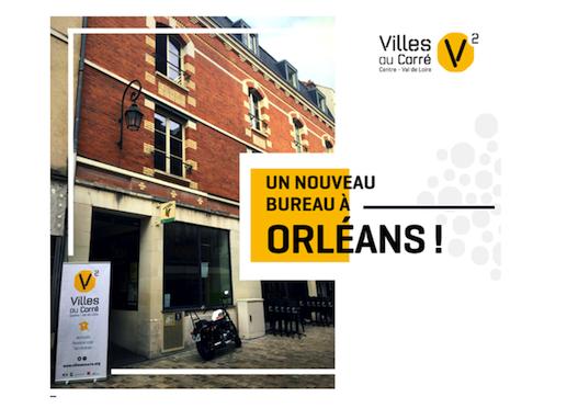 C'est nouveau : V2 ouvre un bureau à Orléans