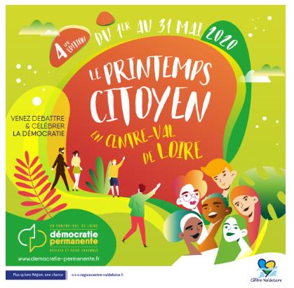 La 2ème édition du Printemps citoyen en Centre-Val de Loire se prépare