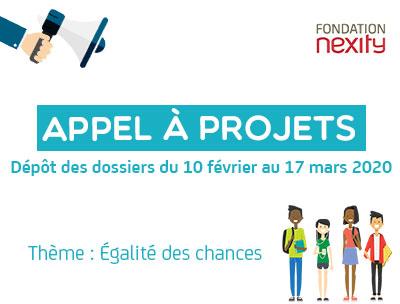 Egalité des chances – Appel à projets de la Fondation Nexity