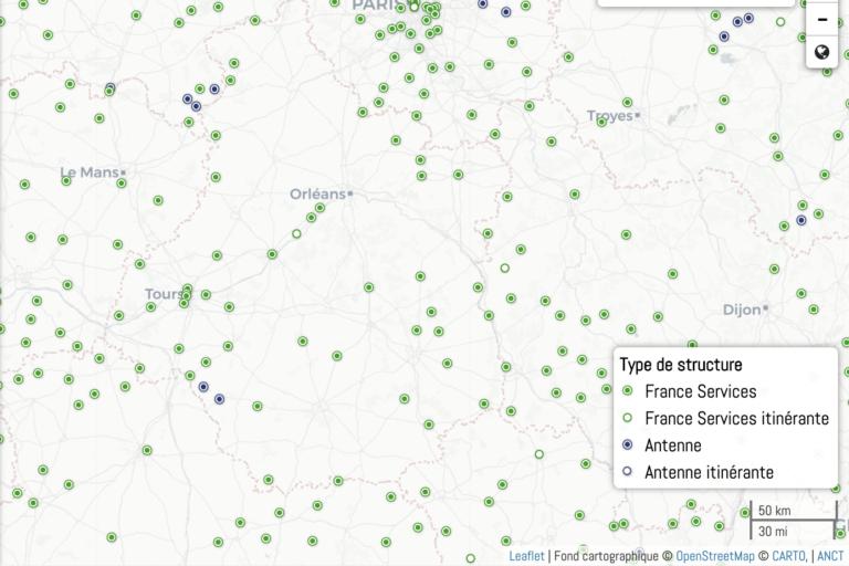 Appel à projets pour 50 nouveaux bus France Services-QPV et territoires ruraux