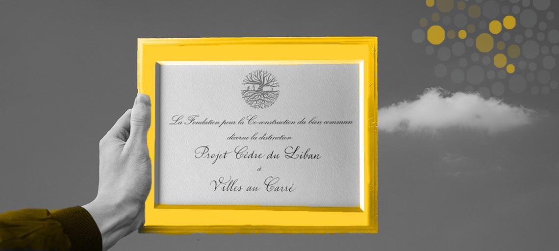 Villes au Carré lauréat de la promotion Cèdre du Liban 2020 | Le Rameau, fondation de la co-construction du bien commun
