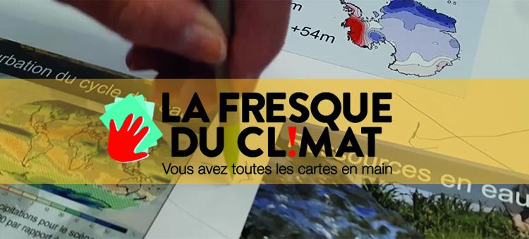 La fresque du climat pour la rentr'écolo de l'université de Tours